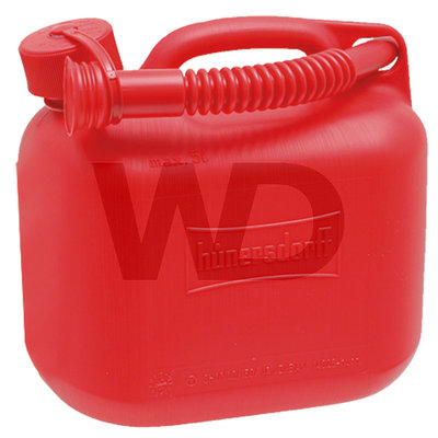Hünersdorff jerrycan rood 5 liter