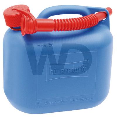 Hünersdorff jerrycan blauw 5 liter