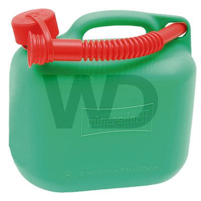 Hünersdorff jerrycan groen 5 liter