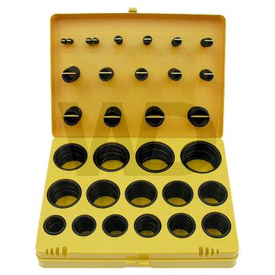 Assortiment o-ringen (mm.) 404 stuks
