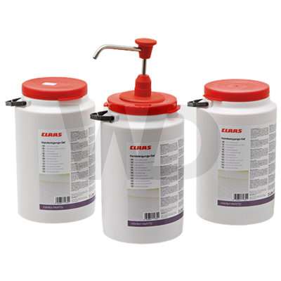 Garagezeep gel 3x 3 liter met doseerpomp
