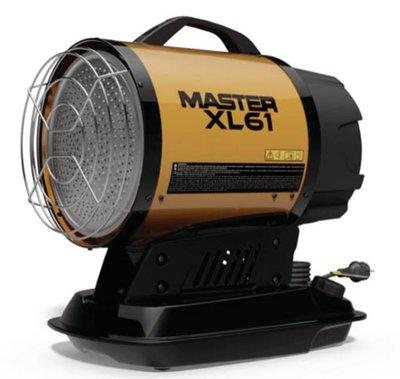 Master XL61 infrarood kachel