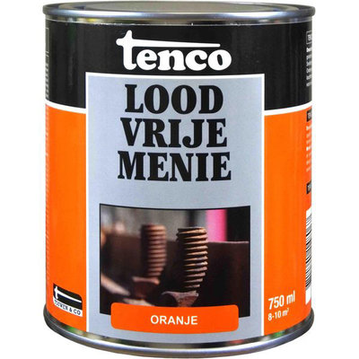 Tenco loodvrije menie oranje 750 ml.