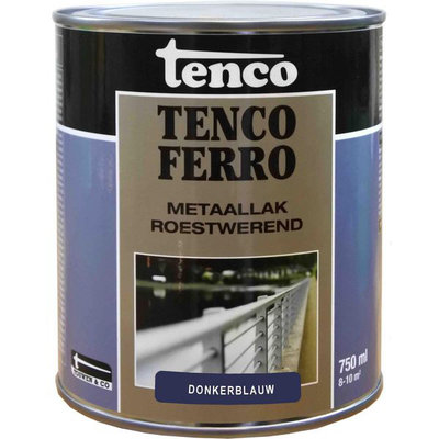 Tenco Ferro metaallak 412 donker blauw 750 ml.
