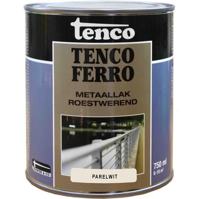 Tenco Ferro metaallak 413 parel wit 750 ml.