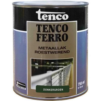 Tenco Ferro metaallak 408 donker groen 750 ml.